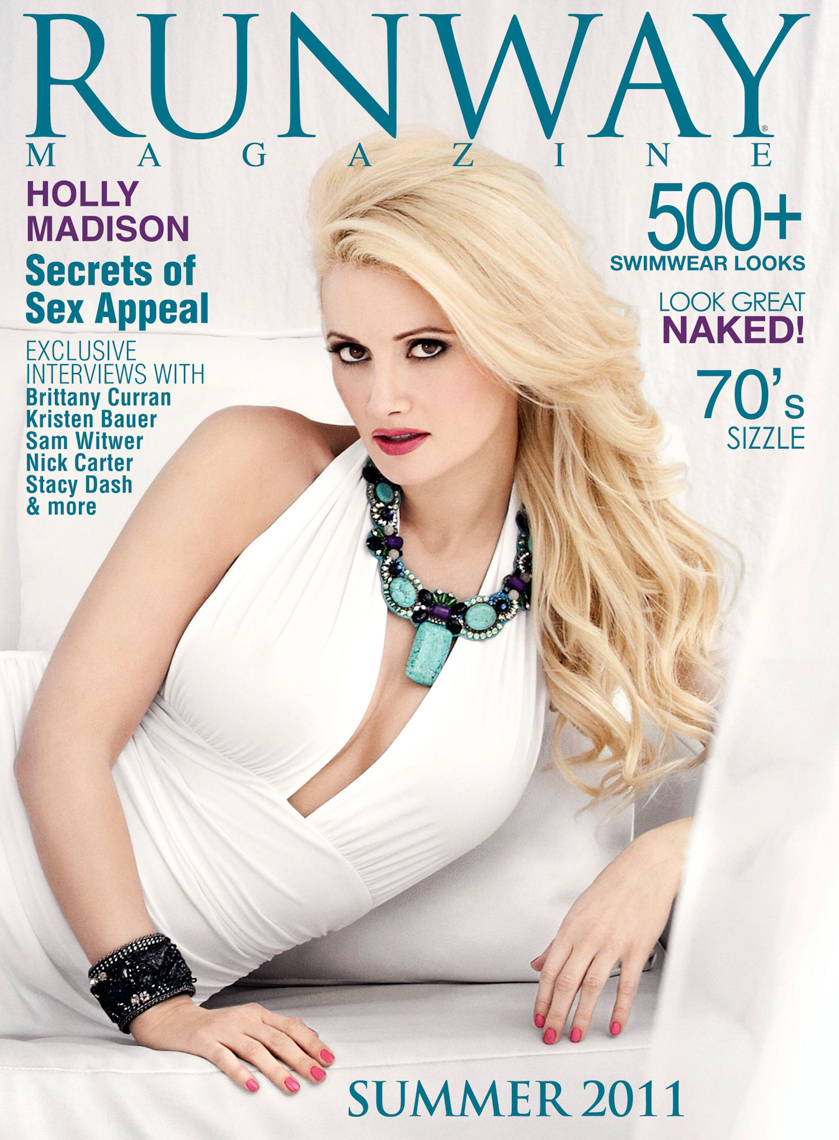 HOLLY MADISON RUNWAY COVER