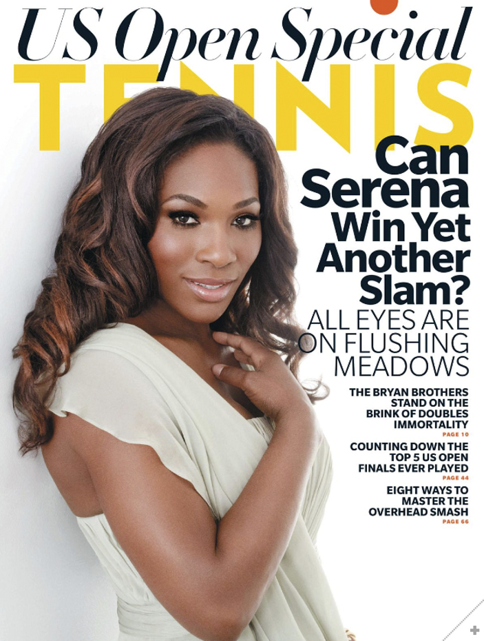 serena williams tennis cover-2